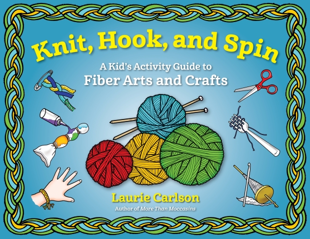 Cover of Knit, Hook, and Spin