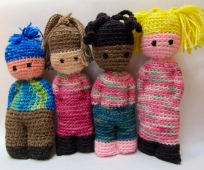 Crochet Dolls by Laurie Carlson B